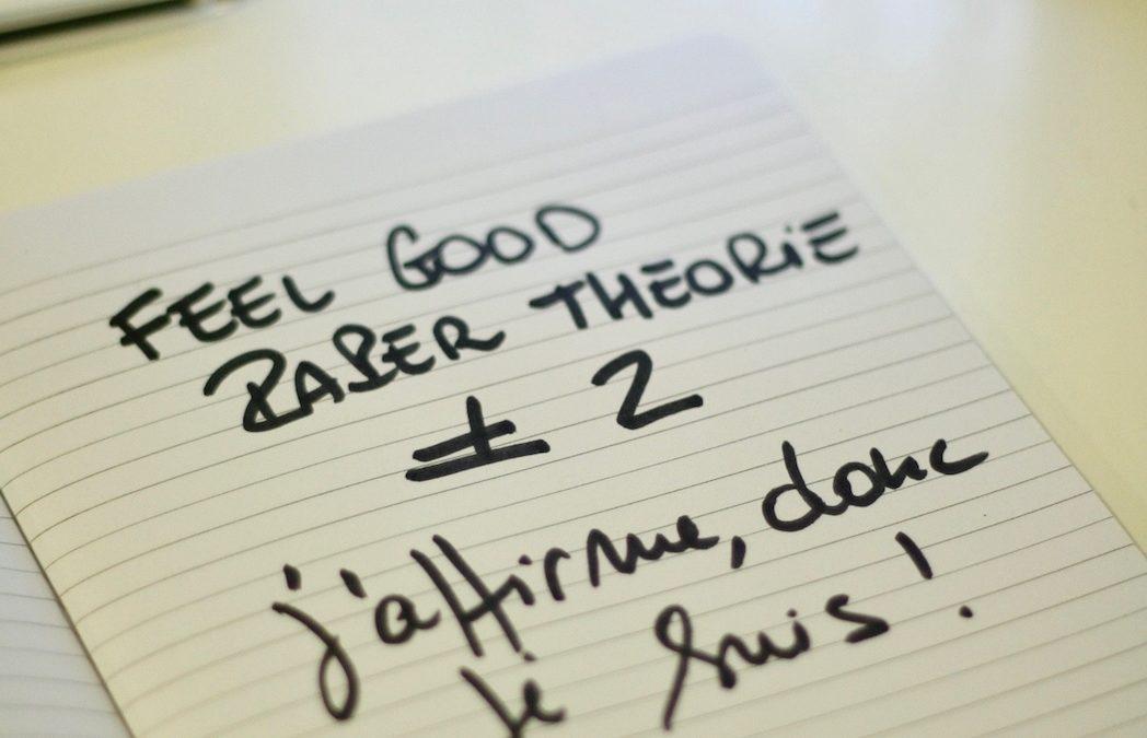 Défi feel good paper théorie #2
