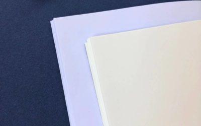 Quel papier choisir pour mon cahier ?