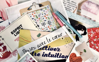 Comment faire un vision board