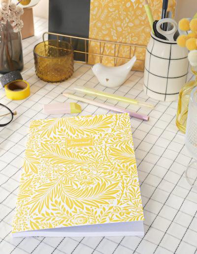 Les-Jolis-Cahiers cahier-journal-jaune-couverture